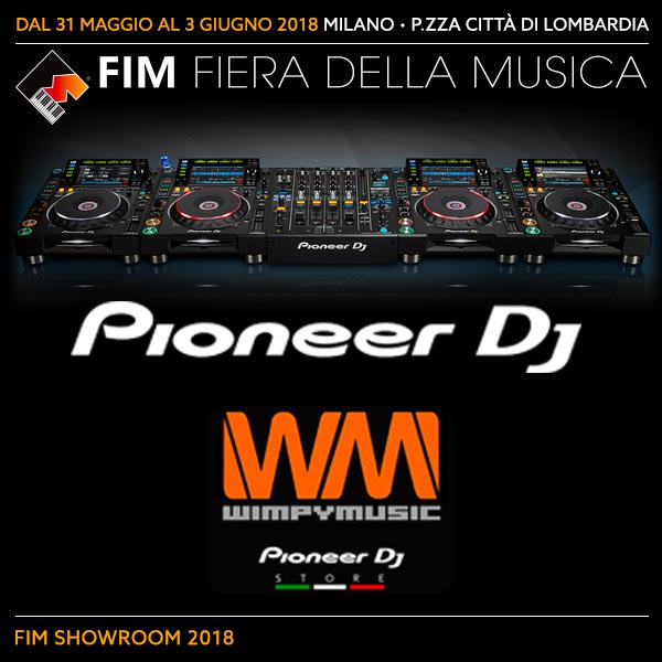 PIONEER partner di IT'S YOUR TIME DJ Contest FIM 2018