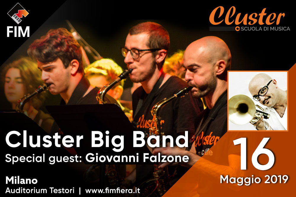 Cluster Big Band (Special guest: Giovanni Falzone)