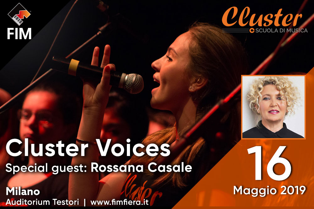 Cluster Voices (Special guest: Rossana Casale)